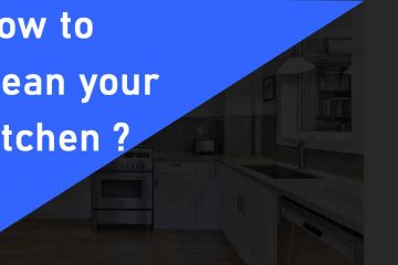 how to clean your kitchen